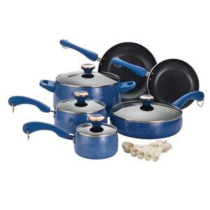 15 Piece Porcelain Non-Stick Cookware Set