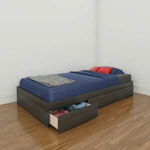 Maryjo Loft Bed with Stora..
