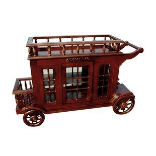 Alim Wine Trolley Carriage Bar Cart