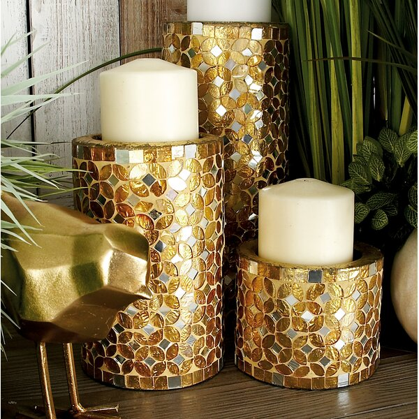 Mosaic Candle Holder | Wayfair