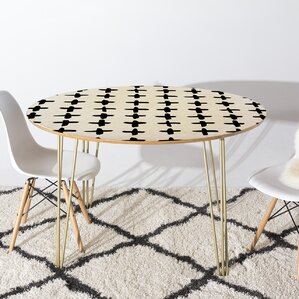 Fender Dining Table by Brayden Studio