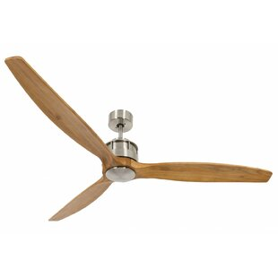 152cm Akmani 3 Blade Ceiling Fan with Remote by Lucci Air
