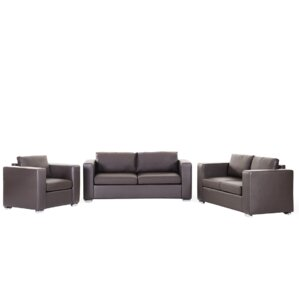 Helsinki 3 Piece Leather Living Room Set by ..