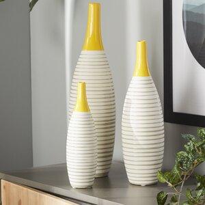Zuleika 3 Piece Vase Set