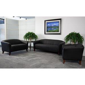 pyron leather sofa