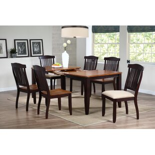 Open Solid Wood Dining Chair (Set of 2)