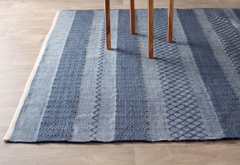 Fab habitat estate hand woven blue indooroutdoor area rug defaultname baanklon Gallery