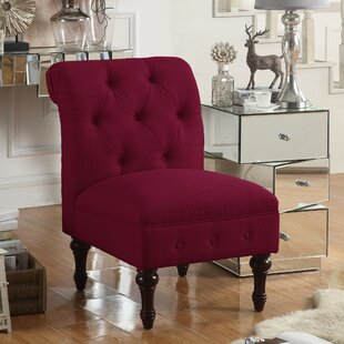 Red Tufted Chair | Wayfair