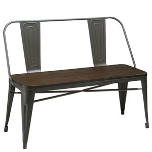 Peetz Metal Bench by Trent Austin Design