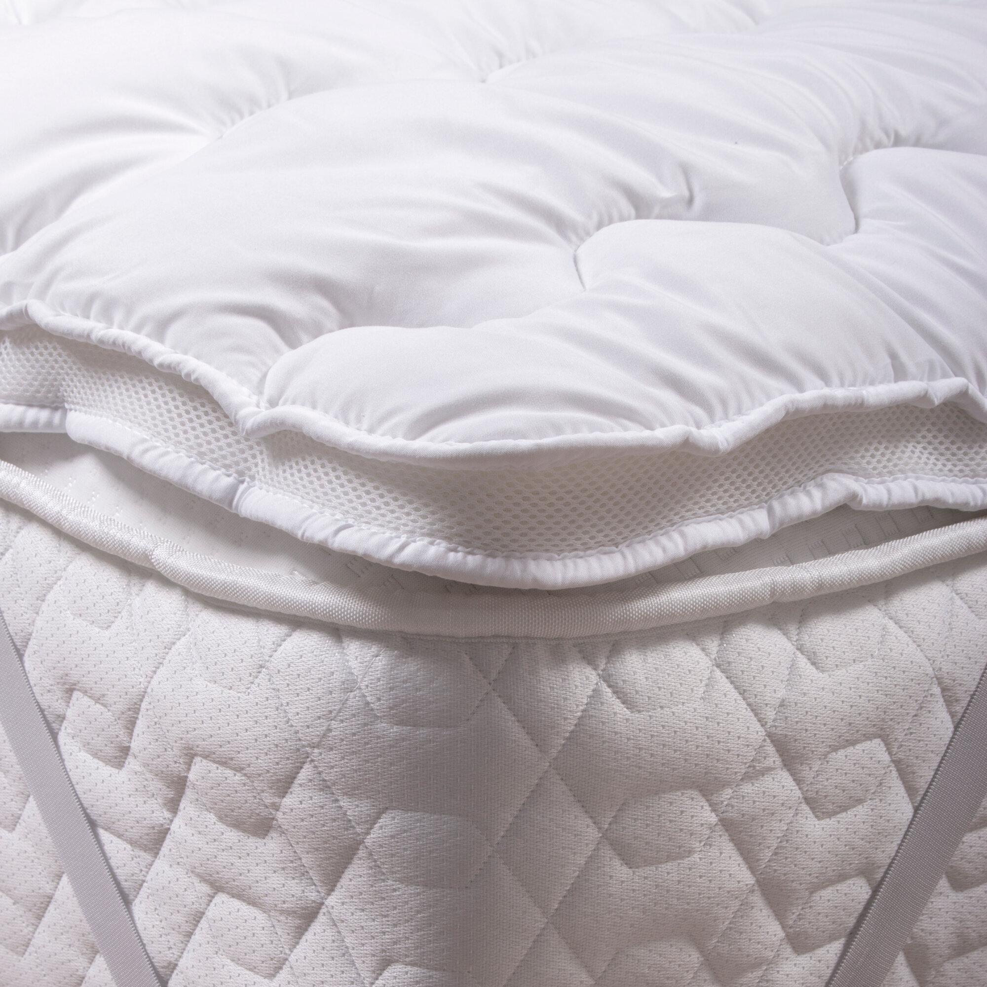 silent night air max mattress topper single