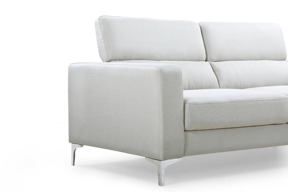 george oliver dennis modern sofa wayfair