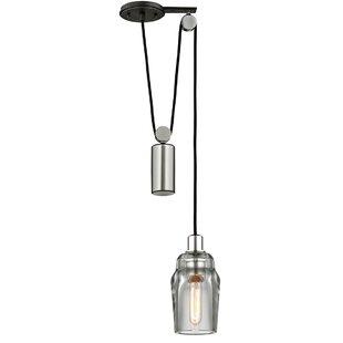 Citizen Pulley 1-Light Jar Pendant  sc 1 st  Wayfair & Barn Pulley Pendant Light | Wayfair