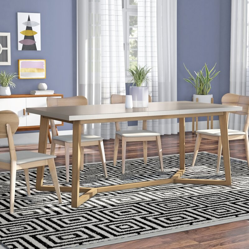 Chesapeake Extendable Dining Table Mid Century Dining Tables