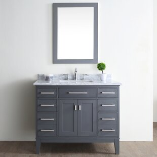 "Quickview. Charlton Home. Arminta 42"" Single Bathroom Vanity Set"