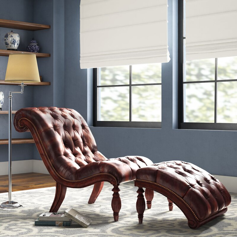 Cedarville Chaise Lounge And Ottoman Set