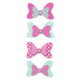 Disney Minnie Mouse Bow Embellishments Wall Decal