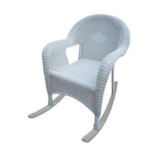 White Resin Wicker Chairs | Wayfair