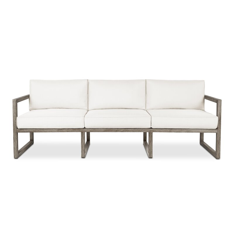 Monaco 3 Seat Sofa with Cushion & Reviews