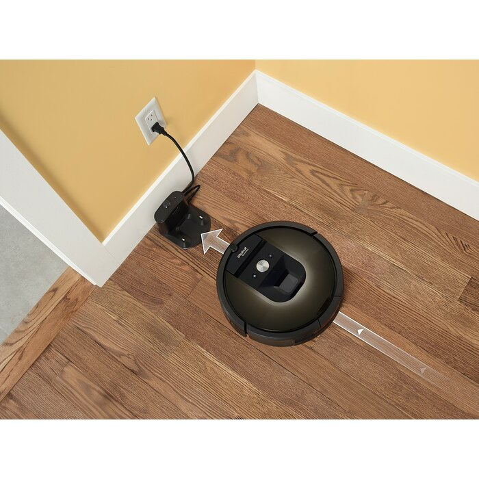 IRobot Roomba WiFi Connected Vacuuming Robot Reviews - Roomba on hardwood floors reviews