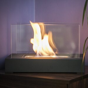 Vigo Bio Ethanol Tabletop Fireplace