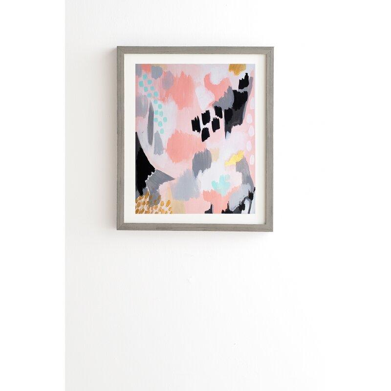 Serenity Abstract Framed Graphic Art | Joss & Main
