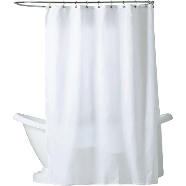 Berning Nylon Shower Curtain Liner & Reviews   AllModern
