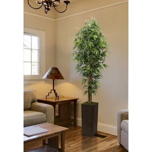 Tall High End Realistic Silk Floor Bamboo Tree In Planter