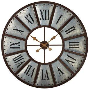 Oversized Roman Numeral Clock Wayfair
