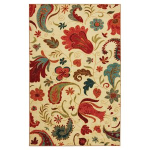 Virginia Beige Area Rug