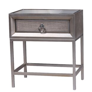 modern & contemporary marble top nightstand   allmodern Marble Top Nightstand