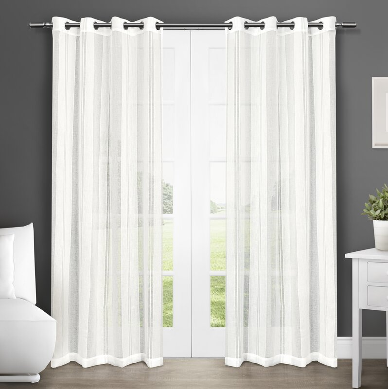 Amalgamated Textiles Exclusive Home Solid Sheer Grommet