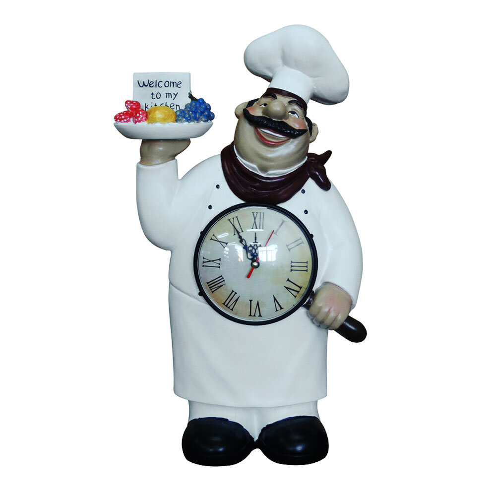Fleur De Lis Living Fat Chef Figurine Welcome to My Kitchen Tabletop ...