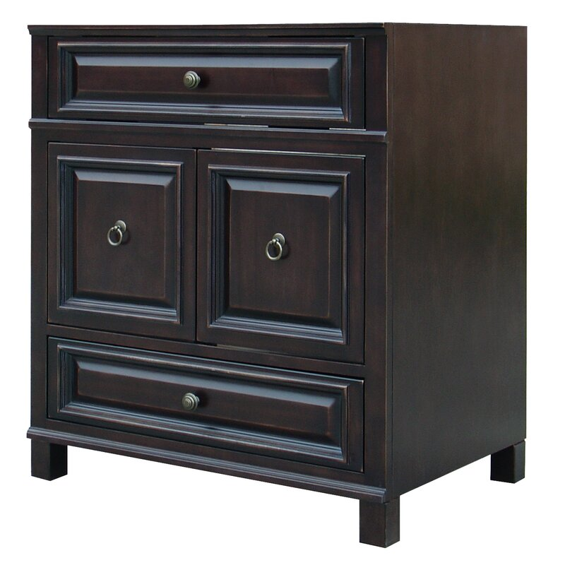 Sunny Wood Barton Hill 30 Quot Bathroom Vanity Base Only