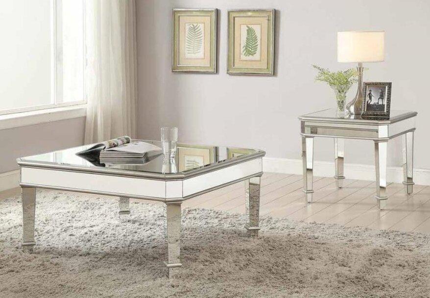 Claremont 2 Piece Coffee Table Set