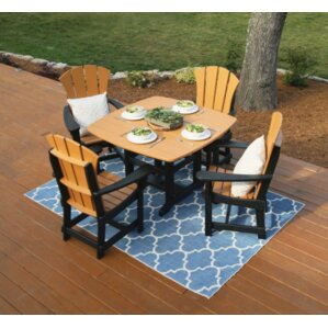 Pawleys Island 5 Piece Dining Set