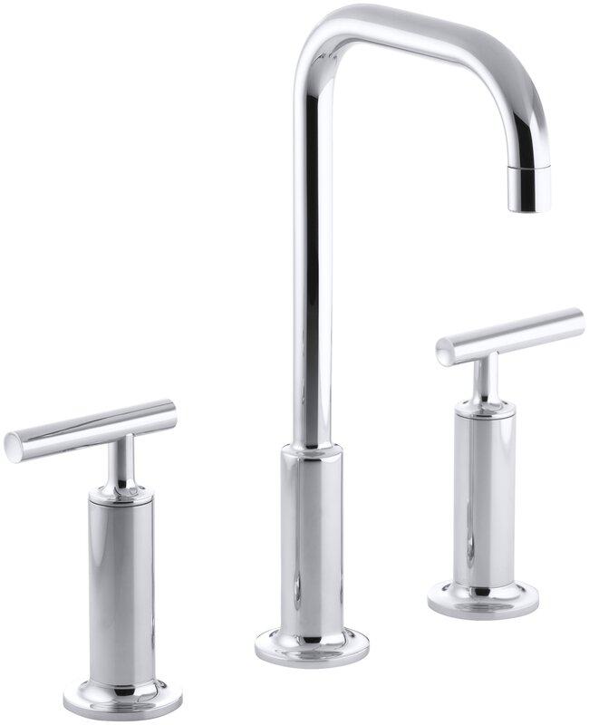 K-14408-4-BN,BV,CP Kohler Purist Widespread Bathroom Faucet with ...