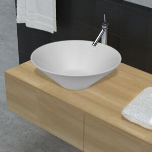 Home Etc 42 cm Aufsatz-Waschbecken