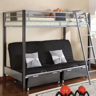 Adult Bunk Beds With Futon Wayfair