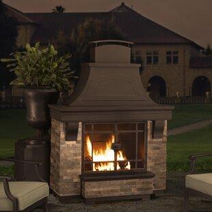 Outdoor Fireplaces You Ll Love Wayfair