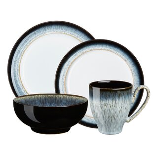 Halo 4 Piece Place Setting Service for 1  sc 1 st  Wayfair & Mid-Century Modern Dinnerware Sets You\u0027ll Love | Wayfair