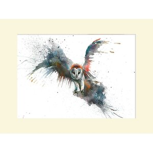 'Eric in Flight' Watercolour Painting Print