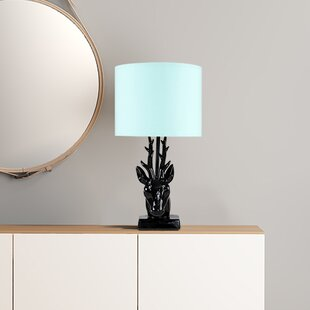 Stags Head 48cm Table Lamp