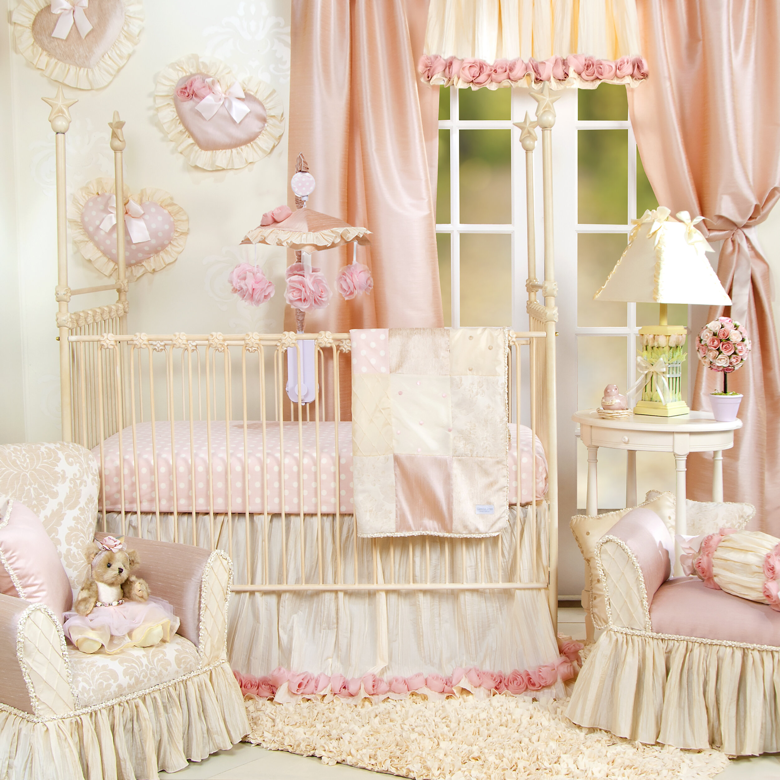 woodland goldilocks s place cribs peach set crib wwh bsps bedding products whimsy