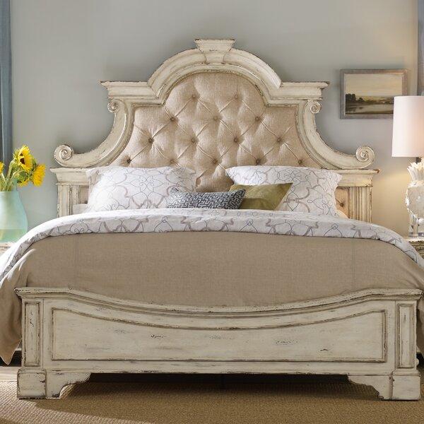 Furniture Finder: Hooker Furniture Sanctuary Upholstered Panel Bed & Reviews