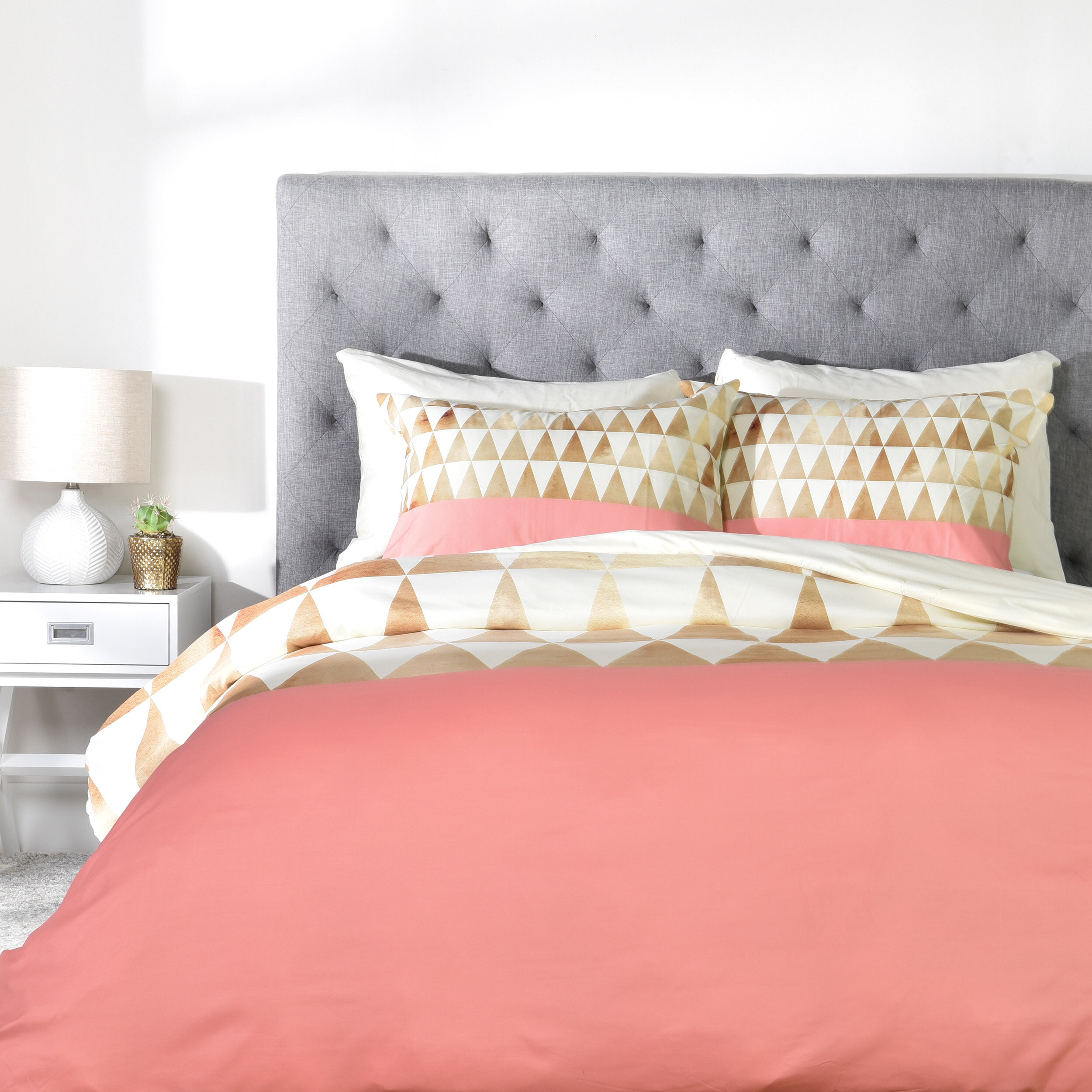 covers fleur brown le schatzi duvet cover lifestyle pink new products white