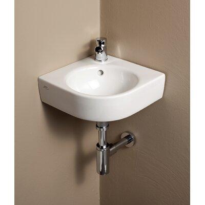 "Bathroom Sinks Wall Mount bissonnet elements comprimo 18"" wall mounted bathroom sink with"