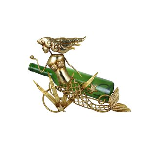 Golden Mermaid 1 Bottle Tabletop Wine Rack