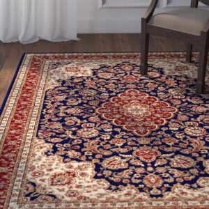 Clarence Navy Area Rug