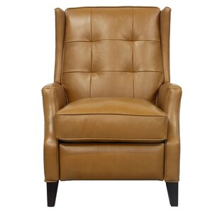 Lincoln Leather Manual Recliner  sc 1 st  Wayfair : barcalounger sectional - Sectionals, Sofas & Couches