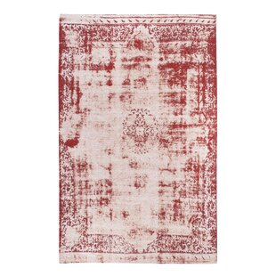 Antique Woven Beige/Red Rug by Luxor Living